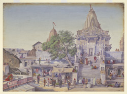 The Jagat Siromani Temple, Udaipur.  'Janr. 1879'
